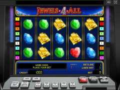 Jewels 4 All слот автоматы slot-77.com Gaminator 1/5