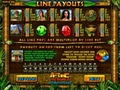 Aztec Treasures 3D слот автоматы slot-77.com Gaminator 2/5