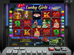 Lucky Girls слот автоматы slot-77.com Gaminator 5/5