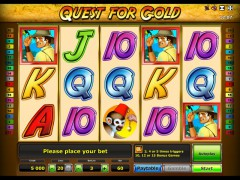 Quest for Gold слот автоматы slot-77.com Greentube 1/5