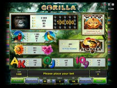 Gorilla слот автоматы slot-77.com Greentube 2/5