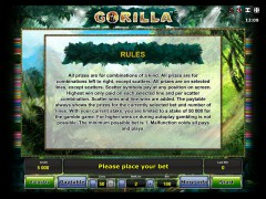 Gorilla слот автоматы slot-77.com Greentube 4/5