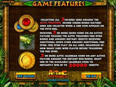 Aztec Treasures 3D слот автоматы slot-77.com Greentube 3/5