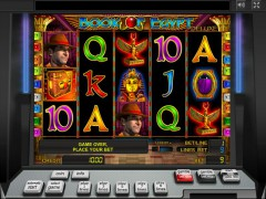 Book of Egypt Deluxe слот автоматы slot-77.com Greentube 1/5