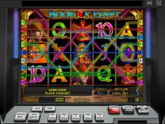 Book of Egypt Deluxe слот автоматы slot-77.com Greentube 3/5