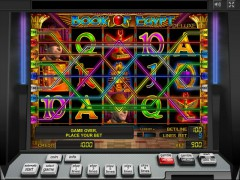 Book of Egypt Deluxe слот автоматы slot-77.com Greentube 4/5