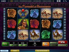 The Pyramid of Ramesses слот автоматы slot-77.com Playtech 1/5