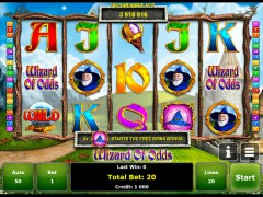 Wizard of Odds слот автоматы slot-77.com Gaminator 1/5