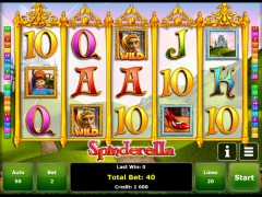 Spinderella слот автоматы slot-77.com Greentube 1/5