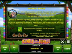 Rumble in the Jungle слот автоматы slot-77.com Novomatic 4/5