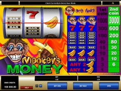 Monkey's Money - Microgaming