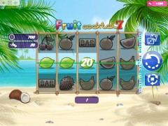 FruitCoctail7 слот автоматы slot-77.com MrSlotty 2/5