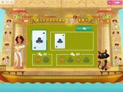 Cleopatra 18+ слот автоматы slot-77.com MrSlotty 3/5
