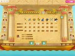 Cleopatra 18+ слот автоматы slot-77.com MrSlotty 5/5