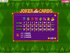 Joker Cards слот автоматы slot-77.com MrSlotty 5/5