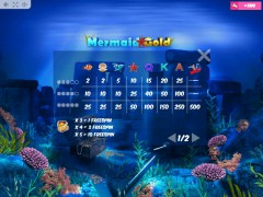 Mermaid Gold слот автоматы slot-77.com MrSlotty 5/5