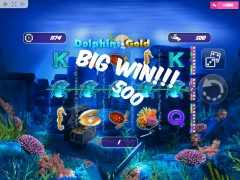 Dolphins Gold слот автоматы slot-77.com MrSlotty 2/5