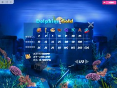 Dolphins Gold слот автоматы slot-77.com MrSlotty 5/5