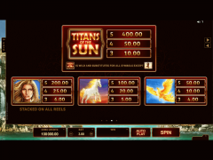 Titans of the Sun Theia слот автоматы slot-77.com Quickfire 4/5