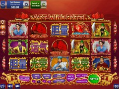 East Wind Battle слот автоматы slot-77.com GamesOS 1/5