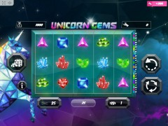 Unicorn Gems слот автоматы slot-77.com MrSlotty 1/5
