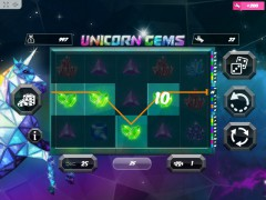Unicorn Gems слот автоматы slot-77.com MrSlotty 2/5