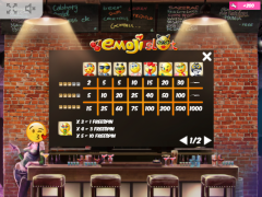 Emoji Slot слот автоматы slot-77.com MrSlotty 5/5